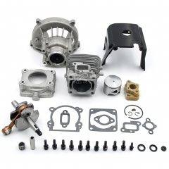 High power Engine parts,32cc upgrade cylinde kit, four bolt head